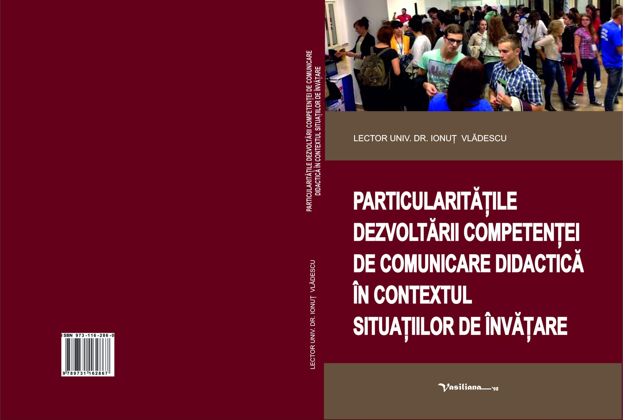 Particularitatile dezvoltarii competentei de comunicare didactica in contextul situatiilor de invatare